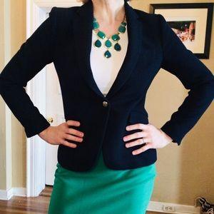 HOT Zara Navy Blazer w/Gold Buttons